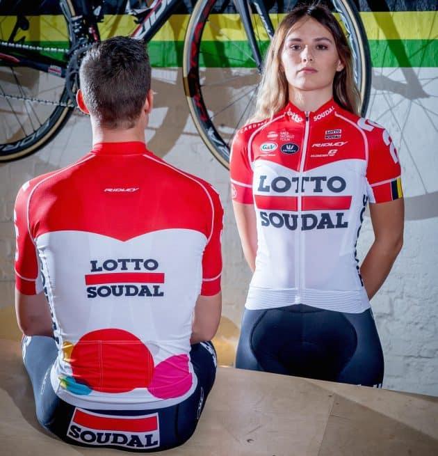 Cyklistický dres Lotto-Soudal 2018