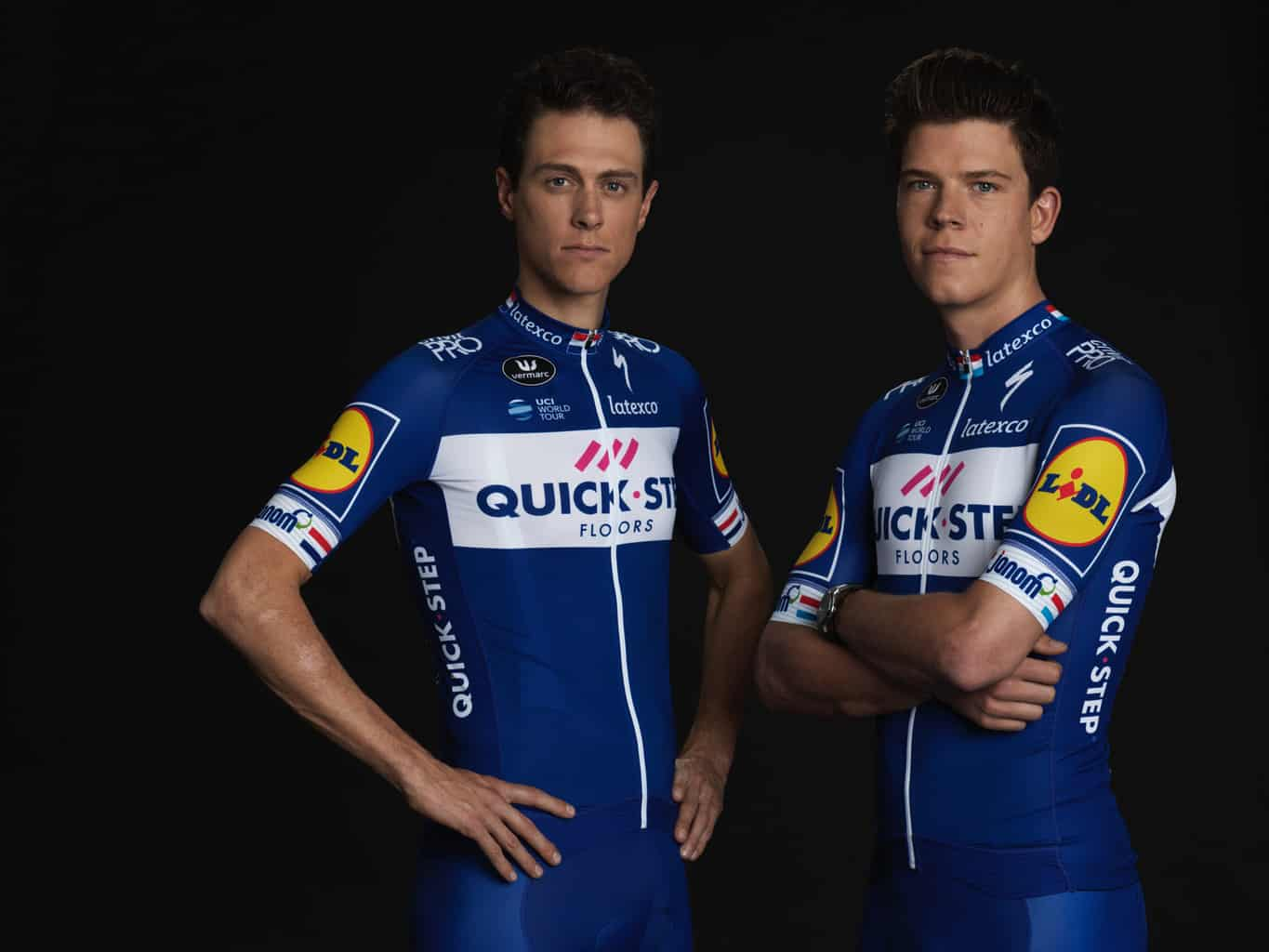 Cyklistický dres Quick-Step Floors 2018