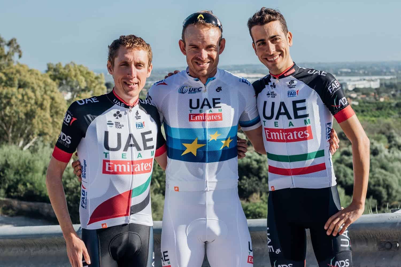 Cyklistický dres UAE Team Emirates 2018