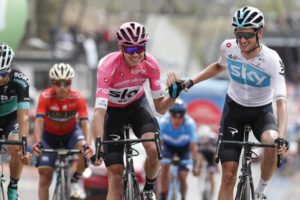 Chris Froome a Wout Poels