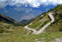 Colle delle Finestre - nejtěžší stoupání 19. etapy Giro d'Italia 2018