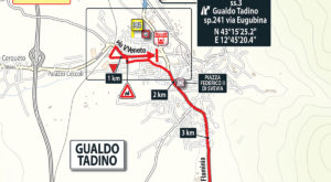 Dojezd 10. etap Giro d'Italia 2018
