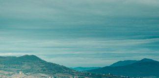 Gualdo Tadino - cíl 10. etapy Giro d'Italia 2018