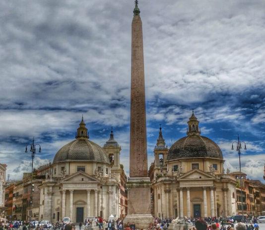 Piazza del Popolo - Řím - 21. etapa Giro d'Italia 2018