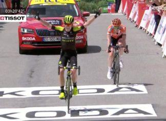 Annemiek van Vleuten - vítězka La Course by Le Tour de France 2018 (druhá Anna van der Breggen)