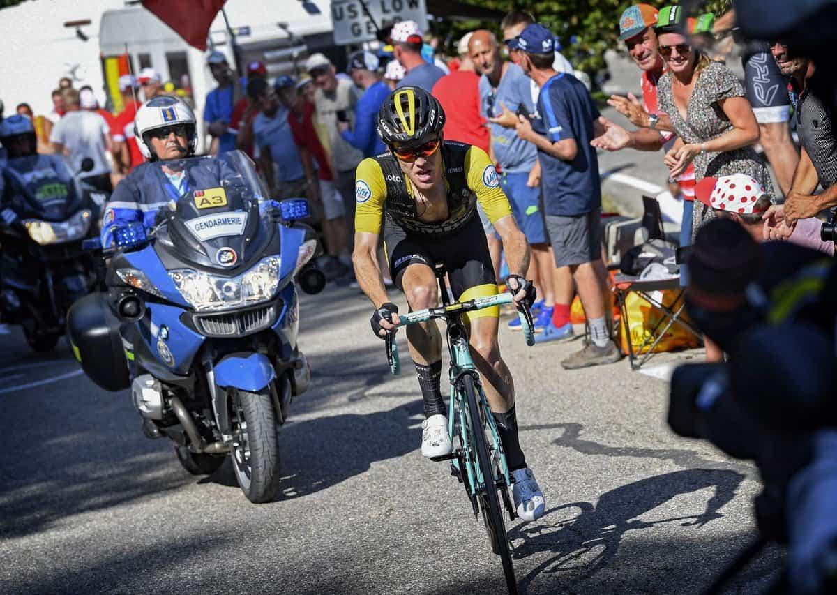 Steven Kruijswijk - bojovník 12. etapy Tour de France 2018