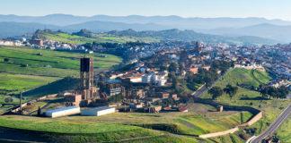 Almadén - město rtuti - dojezd 8. etapy Vuelty 2018