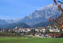 Fritzens - u trati individuálních časovek mužů a žen (Mistrovství světa Innsbruck)