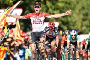 Jelle Wallays Lotto Soudal Vuelta 2018 etapa 18
