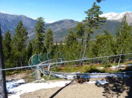 Naturlandia Andorra - okolí dojezdu 19. etapy Vuelty 2018