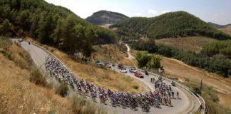Z trasy 9. etapy Vuelty 2018 s dojezdem na La Covatilla
