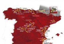 Vuelta 2019 - celková mapa trasy