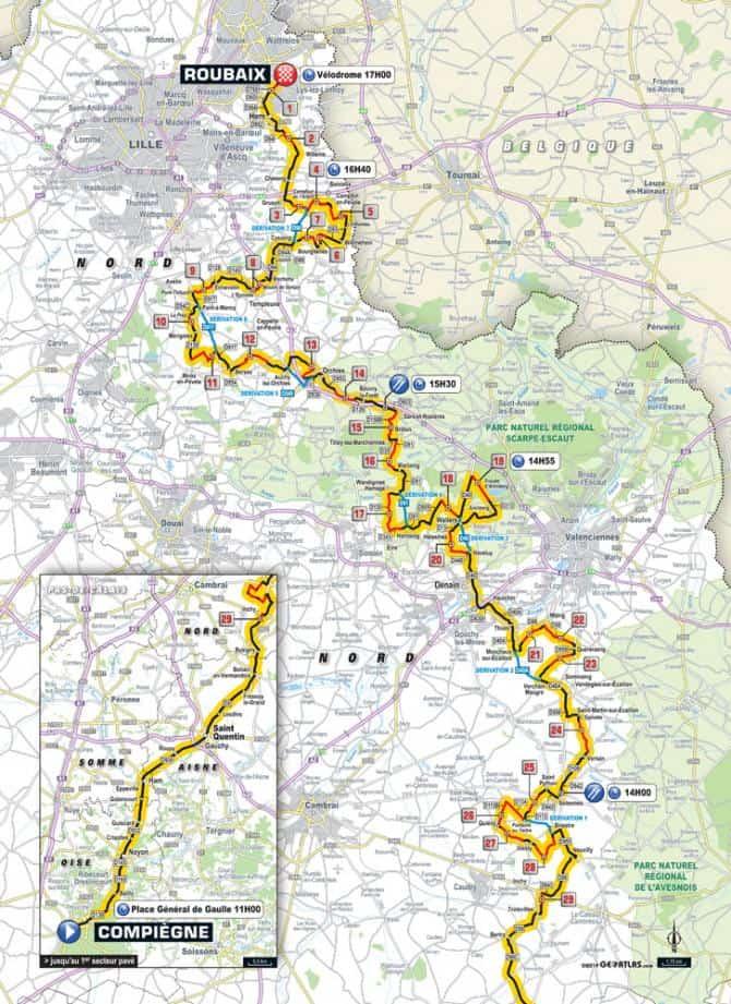 Paříž-Roubaix 2019