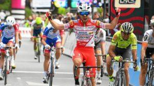 Andrea Vendrame - vítěz Tro-Bro Léon 2019 a smolař 19. etapy Giro d'Italia 2019