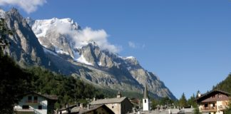 Courmayeur - cíl 14. etapy Giro d'Italia 2019