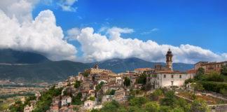 L'Aquila - krajina dojezdu 7. etapy Giro d'Italia 2019