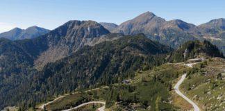Passo Manghen - stoupání 20. etapy Giro d'Italia 2019