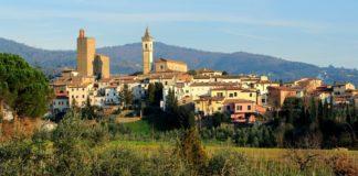 Vinci - okolí dojezdu 2. etapy Giro d'Italia 2019