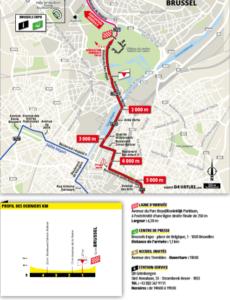 Závěrečné kilometry 1. etapy Tour de France 2019