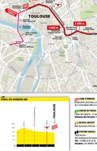 Závěrečné kilometry 11. etapy Tour de France 2019