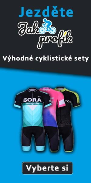Cyklistické dresy 2019 Na kole jako profík