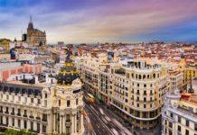 Madrid - dojezd 21. etapy Vuelty 2019