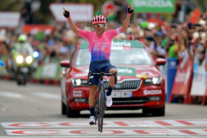 Sergio Higuita EF Education First 18. etapa Vuelta 2019