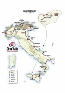 Přehled etap Giro 2020