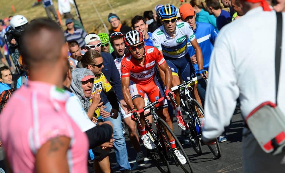 Joaquim Rodríguez a Alberto Contador