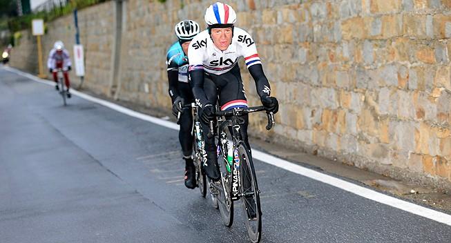 Ian Stannard a Sylvain Chavanel