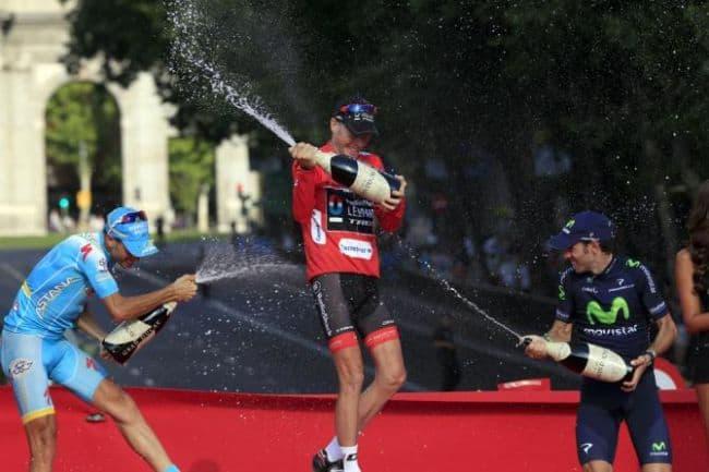 Vincenzo Nibali, Chris Horner, Alejandro Valverde