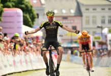 Damien Howson Czech Tour 2020 Mitchelton-Scott