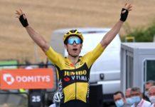 Wout van Aert 1. etapa Critérium du Dauphiné 2020
