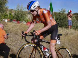 Anna van der Breggen - mistryně světa v silničním závodě 2020