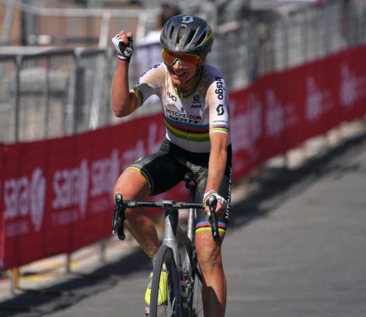 Annemiek van Vleuten - vítězka 2. etapy Giro Rosa 2020