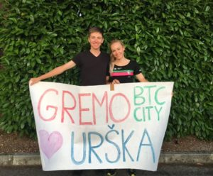 Giro Rosa 2019 - Urška Žigart a její partner Tadej Pogačar