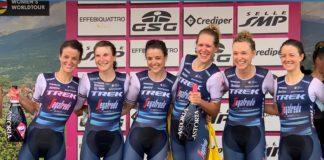 Trek-Segafredo - vítězky 1. etapy Giro Rosa 2020