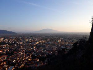 Vesuv z Maddaloni - dojezd 7. etapy Giro Rosa 2020