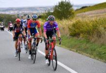 Vuelta 2020 - 3. etapa, únik