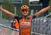 Chantal van den Broek-Blaak - vítězka Ronde van Vlaanderen 2020