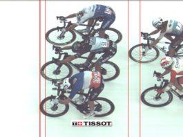 Fotofiniš Giro 2020 etapa 4