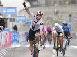 Lorena Wiebes - vítězka 1. etapy Ceratizit Challenge 2020