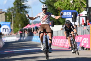 Andrea Vendrame z AG2R 12. etapa Giro 2021