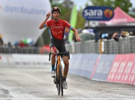 Gino Mader Bahrain-Victorious 6. etapa Giro 2021