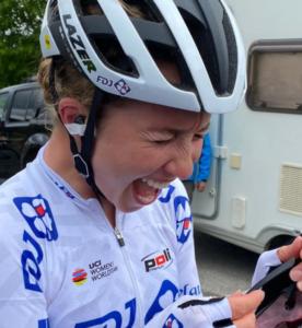 Cecilie Uttrup Ludwig po výhře ve 3. etapě Vuelty a Burgos 2021