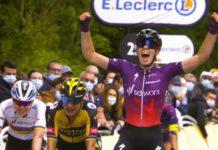 Demi Vollering vítězí na La Course by Le Tour de France 2021