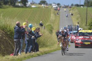 Edward Theuns bojovník 2. etapy Tour de France 2021