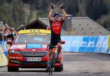 Mark PadunBahrain Victorious 7. etapa Criterium du Dauphine 2021