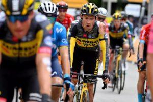 Přimož Roglič smolař 3. etapy Tour de France 2021