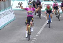Marianne Vos vítězí v 7. etapě Giro Rosa 2021